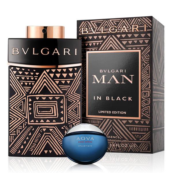 BVLGARI 寶格麗 當代勇者男性淡香精100ml(贈)勁藍水能量男小香5ml ★Vivo薇朵