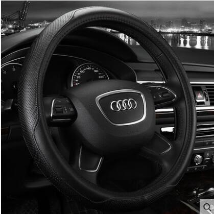 新款真皮汽車方向盤套手把套BS14786『黑色妹妹』