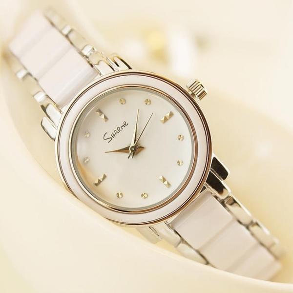 手錶女學生正韓簡約時尚潮流小巧大氣休閒時裝手鍊式女錶【全館上新】