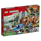 樂高積木 10758 侏羅紀世界 Junior T. rex 恐龍 突破重圍