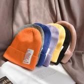 兒童版毛線帽女秋冬天防風針織帽小碼3-6歲寶寶帽子