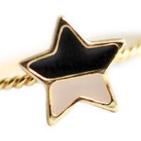 〔APM飾品〕日本Kaza 螢光色彩甜心氛圍愛心 / 蝴蝶結 / 星星戒指