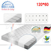 【預購-10/1出貨】德國 Julius Zoellner JOY 嬰兒床墊120x60cm(送天絲床包,顏色隨機)