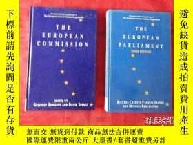 二手書博民逛書店the罕見european parliament third edition(精裝小16開)Y10729 th