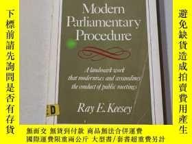 二手書博民逛書店Modern罕見parliamentary procedure:現代議會程序Y212829