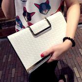 2018新款手拿包女新款手抓包信封包時尚百搭大容量單肩斜挎手提包 至簡元素