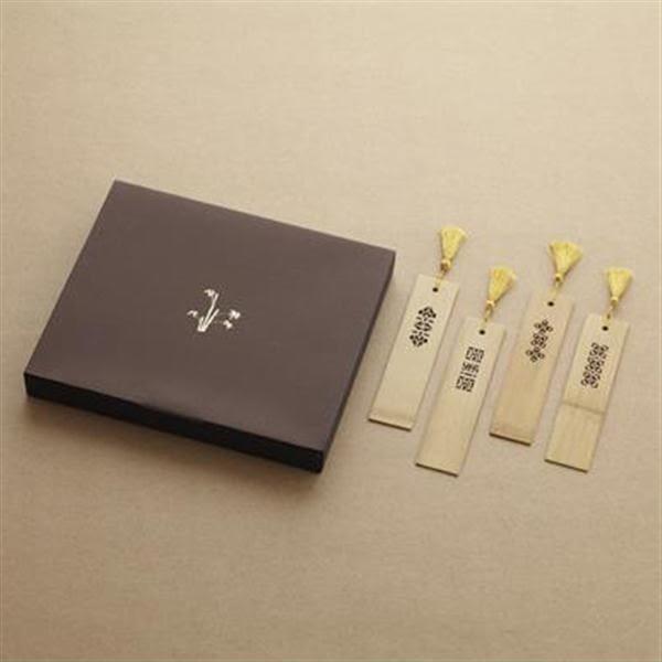 竹片書籤-福氣吉祥【中華筆莊】
