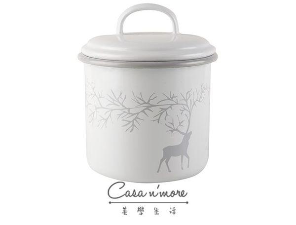 Muurla 馴鹿 琺瑯罐 儲物罐