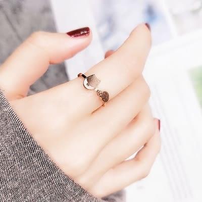 轉運戒指 玫瑰金轉運戒指女個性招財戒子網紅指環 寶貝計畫
