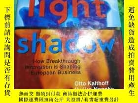 二手書博民逛書店the罕見light and the shadowY13509