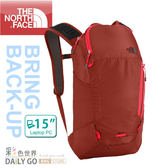 THE NORTH FACE北臉  TNF15 15L 15吋輕量電腦背包 後背包C089-N1W