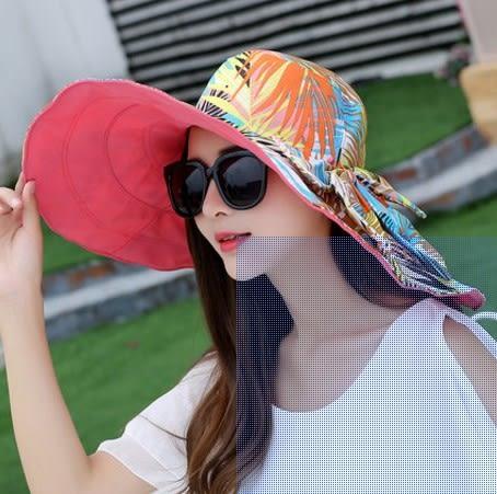 [協貿國際]  女士夏季大沿沙灘帽防曬遮陽帽 (1入)