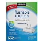 [COSCO代購 604] 促銷至3月5日 W1301182 Kirkland 科克蘭 濕式衛生紙 60抽 X 10包 + 16抽 X 2包
