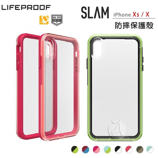 新款【A Shop】LifeProof SLAM for iPhone Xs / X 5.8共用款 雙色防摔殼