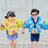 日本面包超人兒童充氣游泳背心小孩連體臂圈馬甲可調節寶寶救生衣   芊惠衣屋