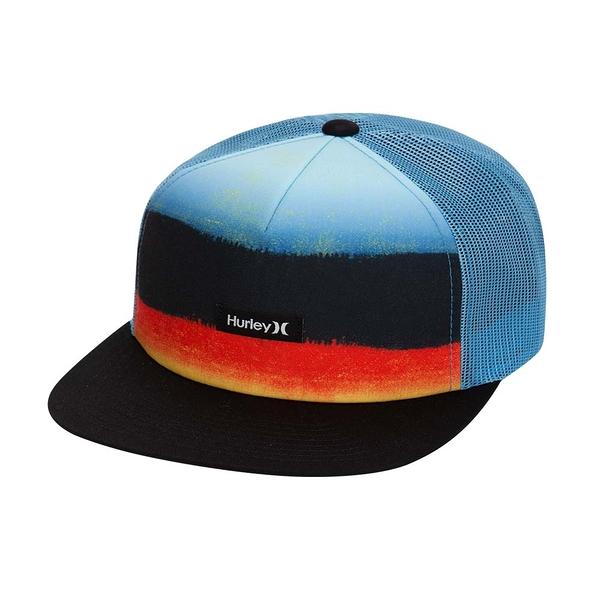 Hurley  M HRLY MIXTAPE HAT BLACK/GREY  棒球帽-藍(男/女)