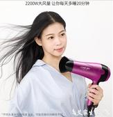 吹風機康夫電吹風機家用負離子護髮大功率髮型師髮廊專用吹風筒冷熱靜音 220v聖誕節