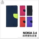 NOKIA 3.4 雙色經典手機皮套 保護套 保護殼 手機殼