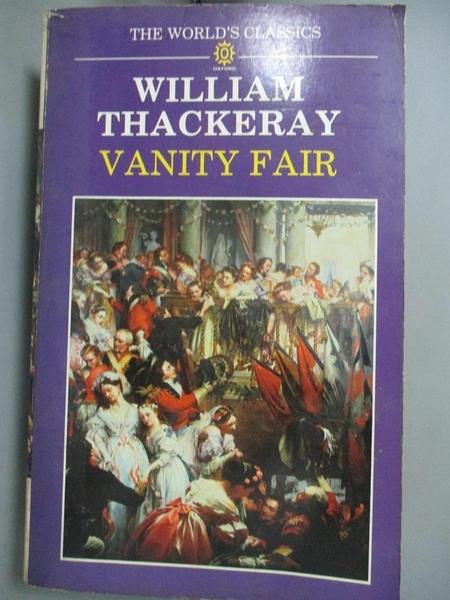 【書寶二手書T5/原文小說_MPX】Vanity Fair-A Novel Without a Hero_William Makepeace Thackeray