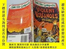 二手書博民逛書店Violent罕見Volcanoes:猛烈的火山。Y200392