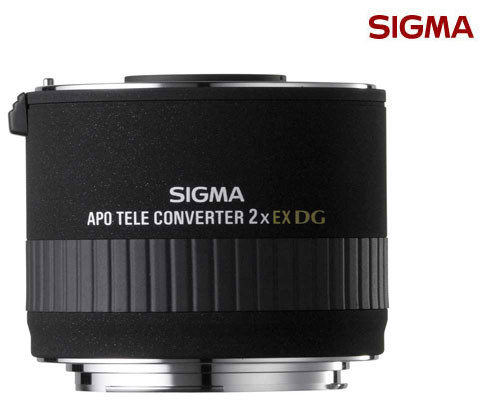 SIGMA APO EX DG 2.0X / 2X / 2倍 增距鏡頭 / 加倍鏡 (6期0利率 免運 恆伸公司貨三年保固)