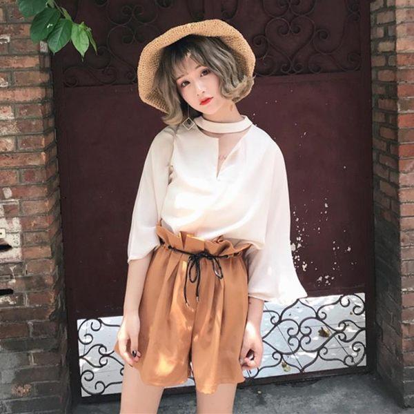 洋裝-正韓時尚兩件套學生女休閒套裝秋季上新