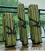 漁具包魚竿包釣魚包海竿包海桿包防水耐磨1.25米兩層三層魚具包 聖誕節全館免運