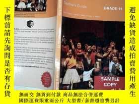 二手書博民逛書店via罕見Afrika Dramatic Arts Grade 11 Teacher s GuideY1988