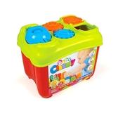 【義大利 Clemmy】baby 多功能軟膠積木桶 15 pcs→大塊 積木 兒童 玩具 批發 軟 安全