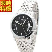石英錶-商務熱銷明星款男腕錶2款2色5r76[時尚巴黎]