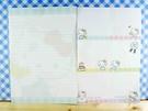 【震撼精品百貨】Hello Kitty 凱蒂貓~kitty便條紙-粉綠(大)