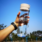 大容量運動水杯子塑料水壺夏天男士女便攜簡約學生夏季耐高溫水瓶【聚物優品】