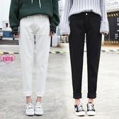 YoYo 牛仔褲 女生長褲 寬鬆 高腰 直筒 微喇叭 長褲