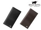 【寧寧精品】台中30年皮件店 BRAUN BUFFEL 提貝里烏斯系列 附零錢袋真皮長夾 BF348-631-1