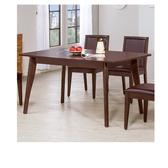 奧斯卡胡桃5尺餐桌(18HY2/A465-03)【DD House】