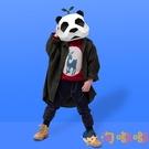 萬聖節熊貓頭套動物紙模創意可愛搞怪面具拍照cos【淘嘟嘟】