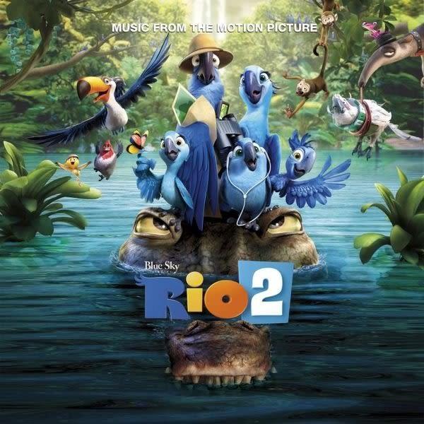 里約大冒險2 電影原聲帶 CD OST  (購潮8)