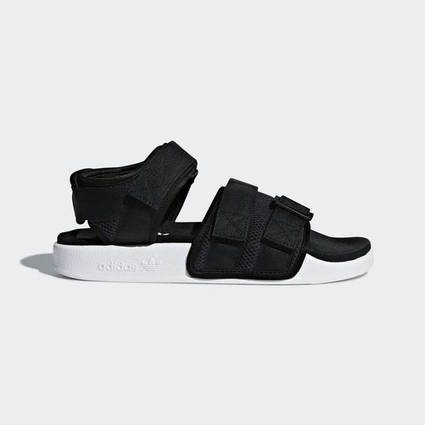 f4d2cf8331a9 Adidas Adilette Sandal 2.0 W AC8583 女涼鞋拖鞋運動休閒魔鬼氈黑愛迪達 ...