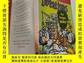 二手書博民逛書店inventions罕見for bright sparks 火花四射的發明..Y200392