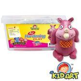 KID ART 美國創意手作黏土 原色黏土(衝撞小犀牛)