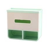 免鑽孔多功能廁所面紙盒/衛生紙架(1入)【小三美日】空運禁送/顏色隨機出貨