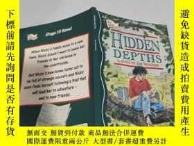 二手書博民逛書店hidden罕見depths a novel by lan strachan 蘭斯特拉坎的小說《隱藏的深度》Y