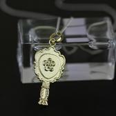 項鍊 925純銀吊墜-化妝鏡造型生日情人節禮物女飾品2色73gm80【時尚巴黎】