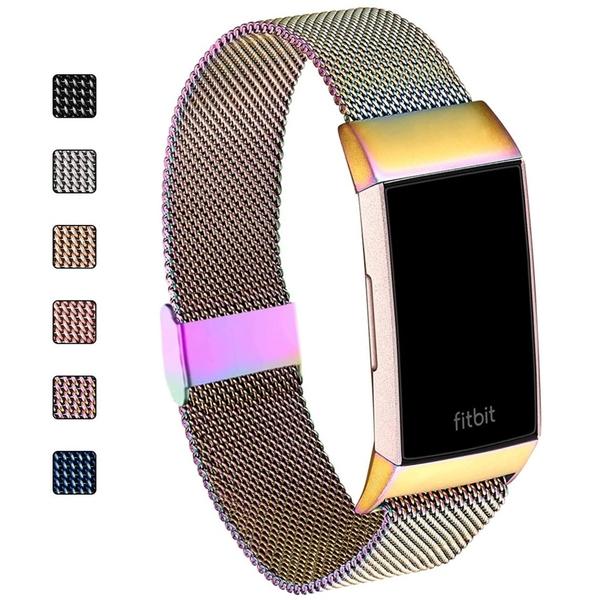 [9美國直購] 錶帶 ZXCASD Band Compatible for Fitbit Charge 4 / Charge 3 / Charge 3 SE Fitness Sport Bands B088YS2QX9