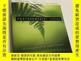二手書博民逛書店Environmental罕見Ethics: Divergenc