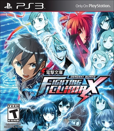 PS3 電擊文庫 FIGHTING CLIMAX(美版代購)