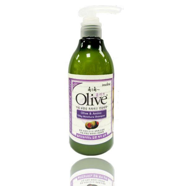 韓國【Olive】300ml 橄欖氨基酸絲質洗髮精 【 imselene英絲林】