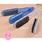 【美髮沙龍推薦】 C711 DIMOND水晶夾梳/直髮梳#2200 (不挑色) [40324]