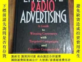二手書博民逛書店Effective罕見Radio AdvertisingY128
