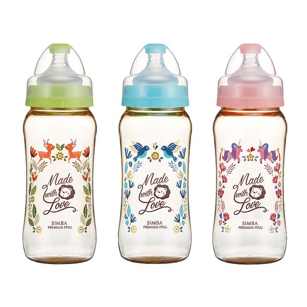 Simba小獅王辛巴 - 桃樂絲 - PPSU寬口葫蘆大奶瓶360ml